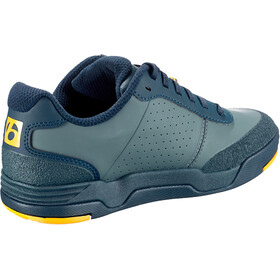 Bontrager Flatline Shoes Men, battleship blue/marigold
